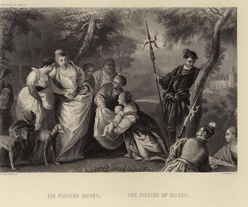 Обретение Моисея. Веронезе (Паоло Кальяри)
