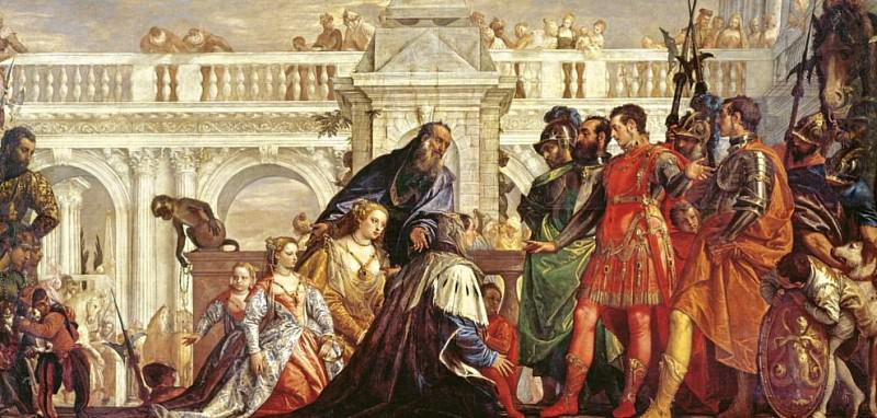 Семья Дария перед Александром Македонским. Веронезе (Паоло Кальяри)