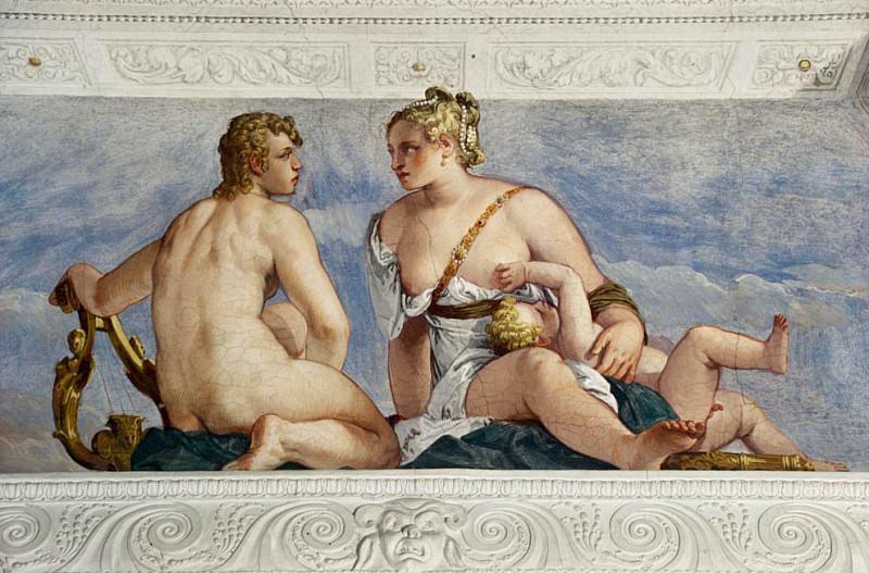 Apollo and Venus. Veronese (Paolo Cagliari)