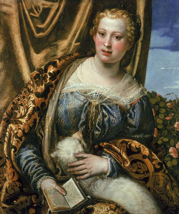 Lady or St. Agnes. Veronese (Paolo Cagliari)
