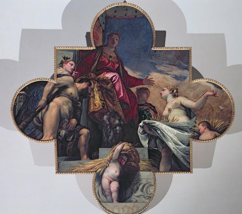 Venus Receiving Gifts from Hercules and Ceres. Veronese (Paolo Cagliari)