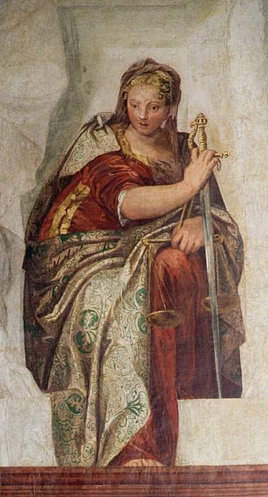 Justice. Veronese (Paolo Cagliari)