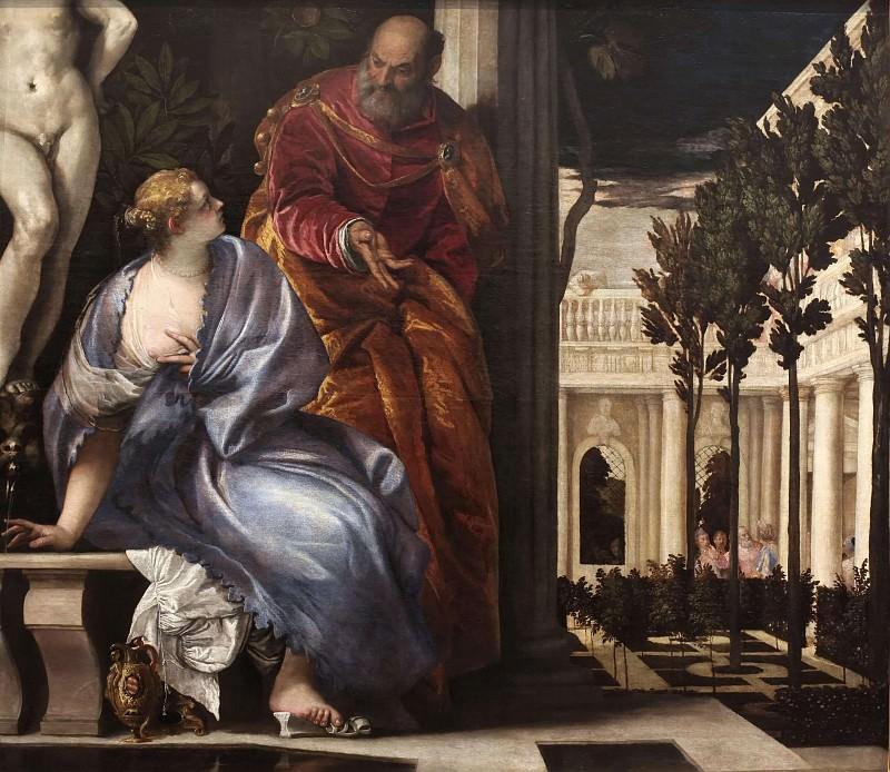 Bathsheba at her Toilet. Veronese (Paolo Cagliari)
