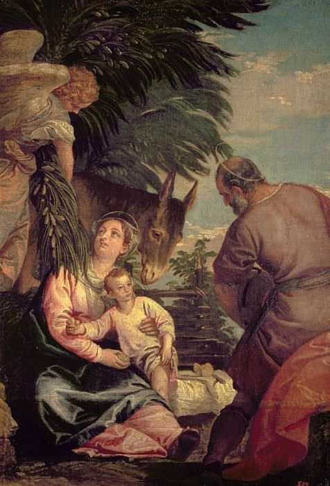 Rest on the Flight into Egypt. Veronese (Paolo Cagliari)