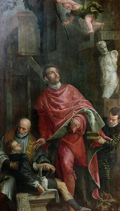 Святой Панталеоне лечит ребенка. Веронезе (Паоло Кальяри)