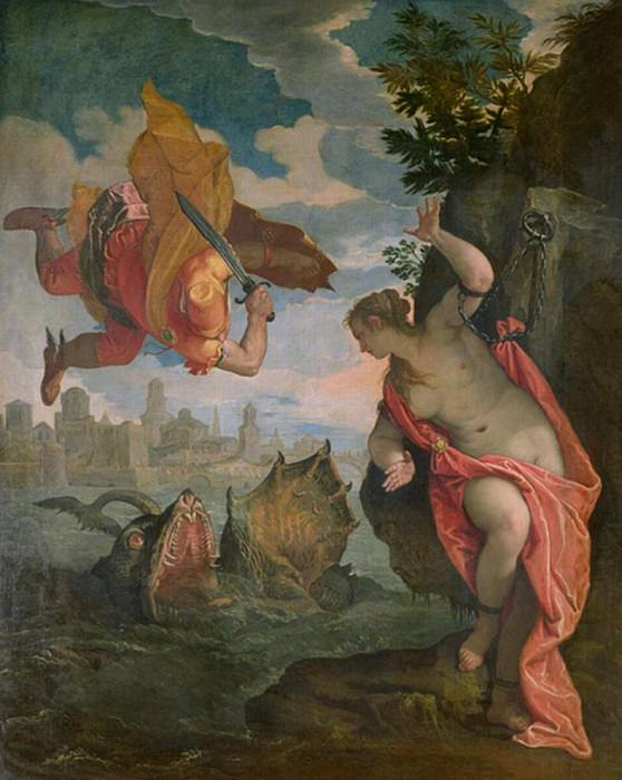 Perseus Rescuing Andromeda. Veronese (Paolo Cagliari)