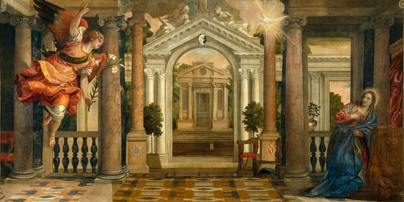 Annunciation. Veronese (Paolo Cagliari)