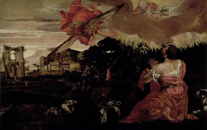 Моисей и горящий куст. Веронезе (Паоло Кальяри)