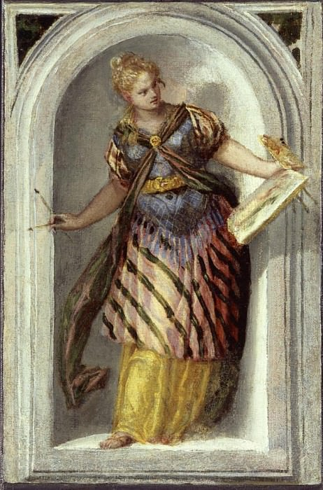 The Muse of Painting. Veronese (Paolo Cagliari)