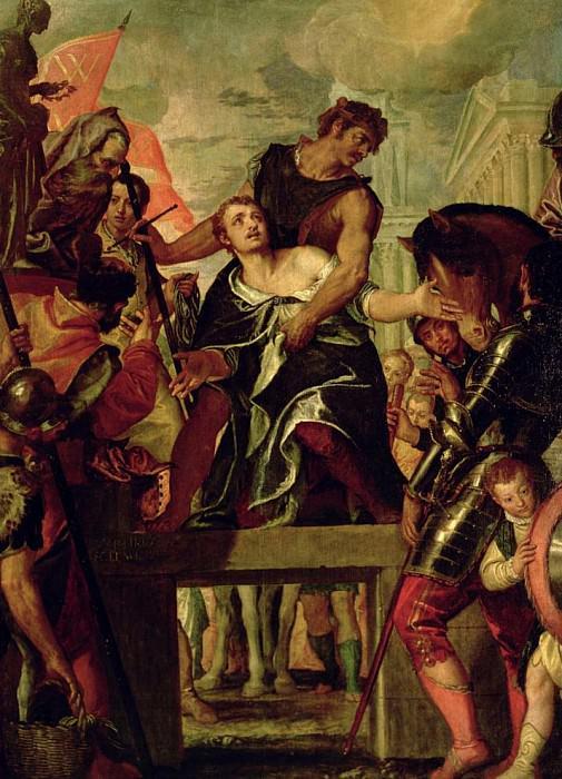 Мученичество святого Менаса. Веронезе (Паоло Кальяри)