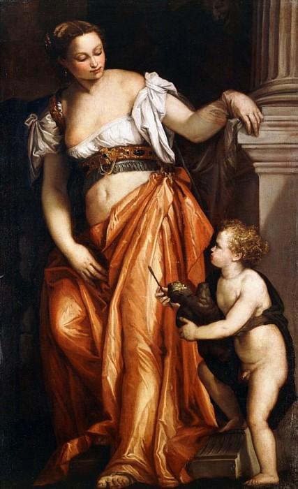 A personification of Sculpture. Veronese (Paolo Cagliari)