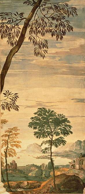 Пейзаж, фрагмент фрески в олимпийской комнате. Веронезе (Паоло Кальяри)
