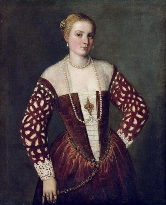 Портрет женщины. Веронезе (Паоло Кальяри)