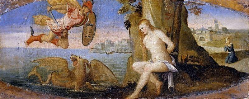 Персей освобождает Андромеду. Веронезе (Бонифацио де Питати)