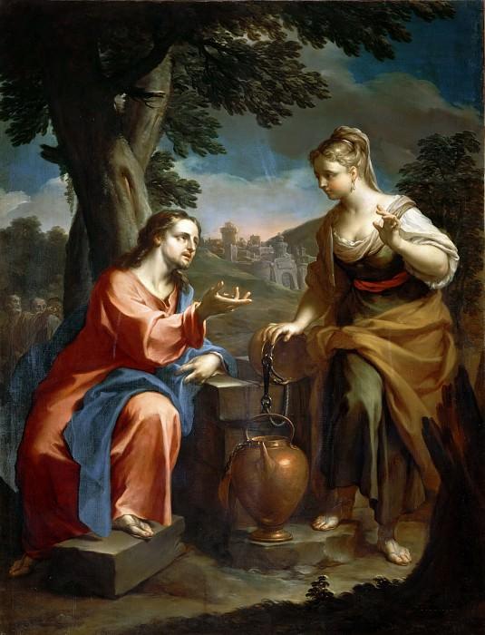 Christ and the Samaritan Woman at the Well (Attr). Francesco Trevisani