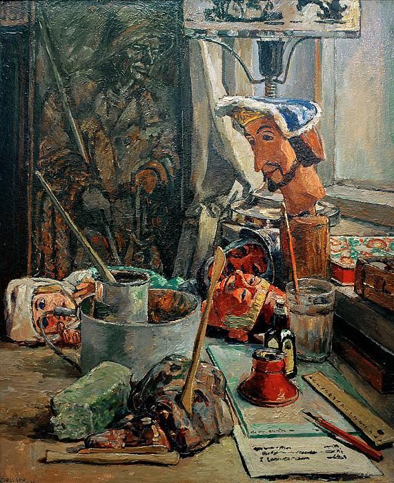 Puppet workshop. Heinrich Vogeler