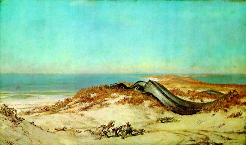 Lair of the Sea Serpent. Elihu Vedder