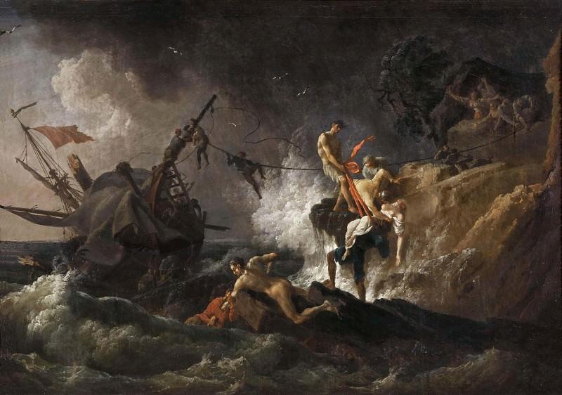 Shipwreck. Pierre-Jacques Volaire