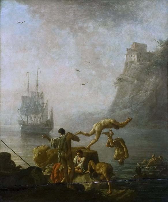 Bathing Men. Pierre-Jacques Volaire