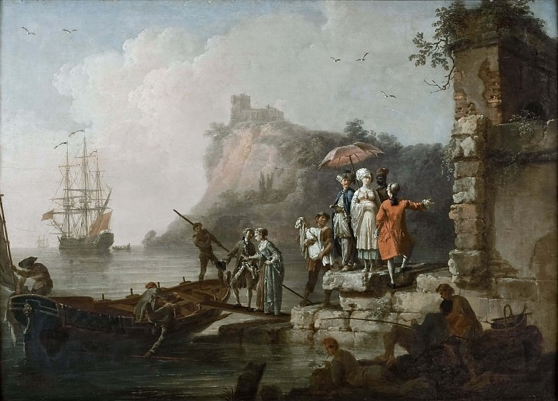 Company Embarking on a Launch. Pierre-Jacques Volaire