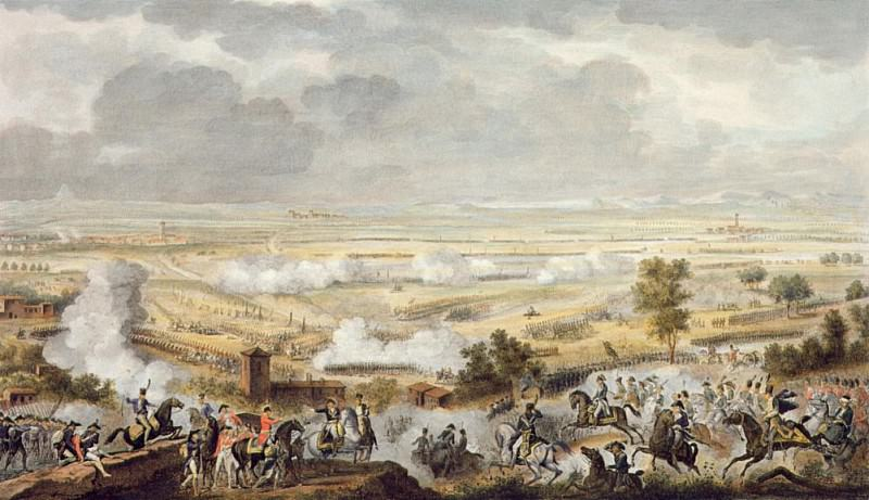 The Battle of Marengo, 23 Prairial. Antoine Charles Horace Vernet