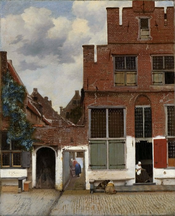 The Little Street. Johannes Vermeer