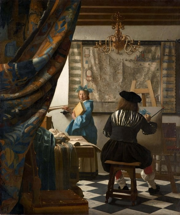 The Art of Painting. Johannes Vermeer