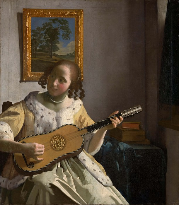 The guitar player. Johannes Vermeer