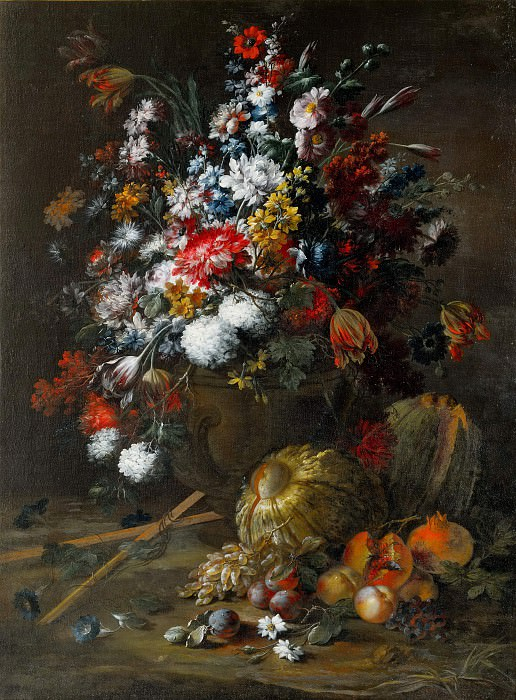 Flowers and Fruit. Andrea Belvedere