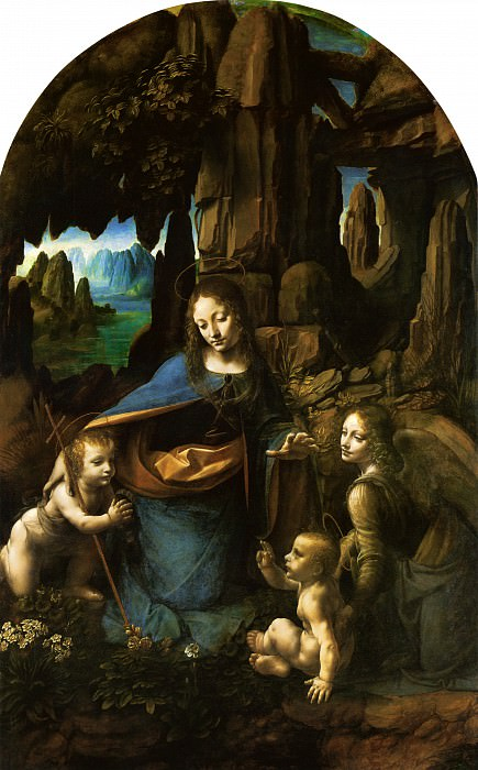 Madonna of the Rocks. Leonardo da Vinci