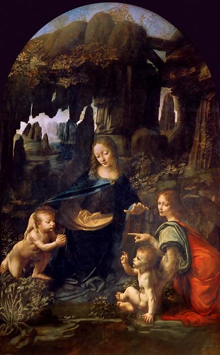 Virgin of the Rocks. Leonardo da Vinci