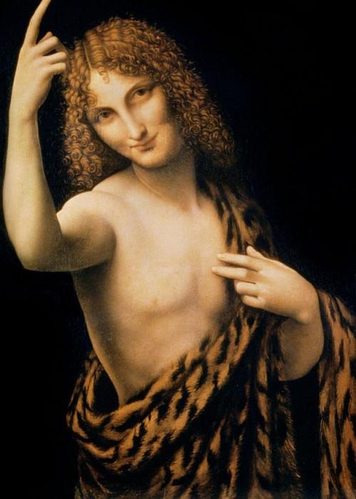 St. John the Baptist. Leonardo da Vinci