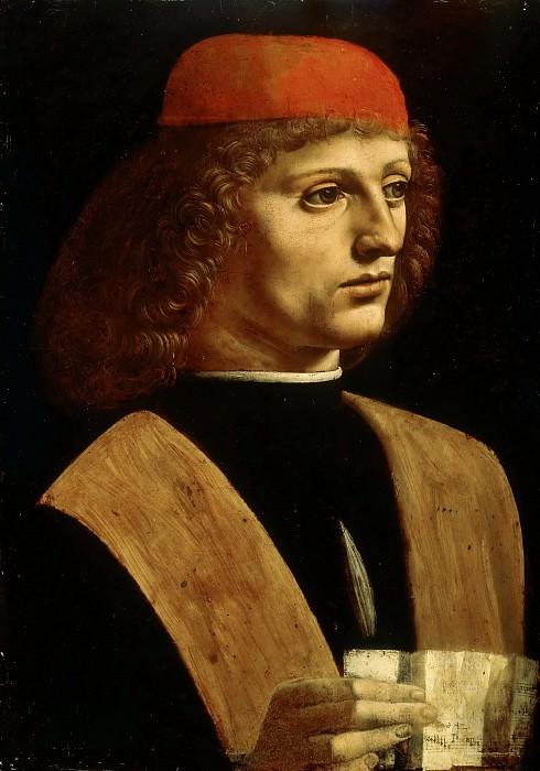 The Musician. Leonardo da Vinci