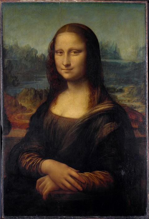Mona Lisa (La Gioconda). Leonardo da Vinci