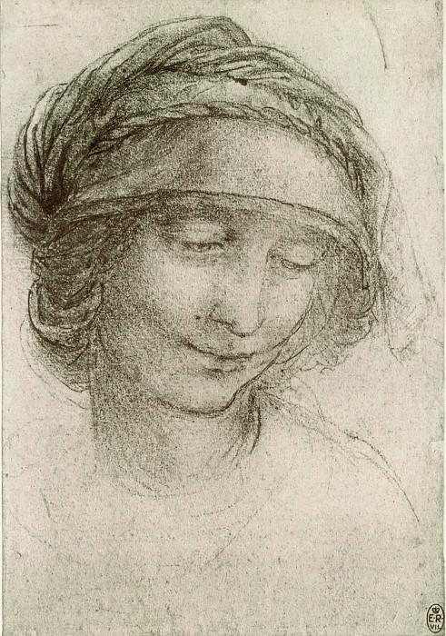 Study for Saint Anne. Leonardo da Vinci