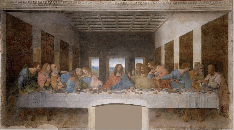 The Last Supper. Leonardo da Vinci