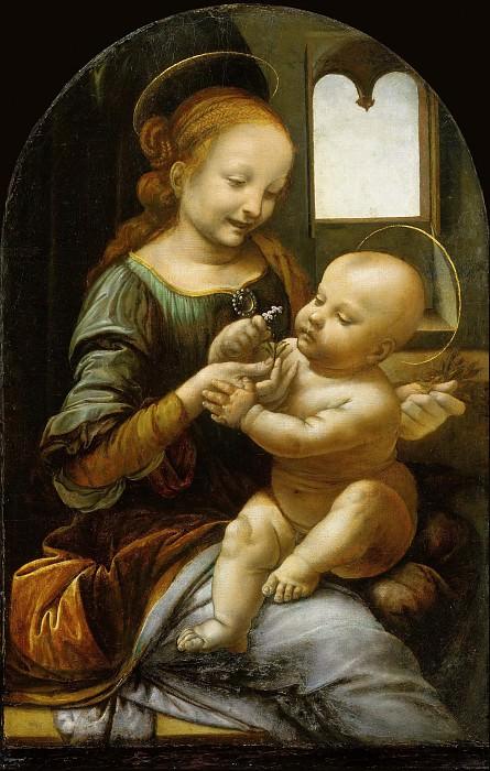 Benois Madonna. Leonardo da Vinci