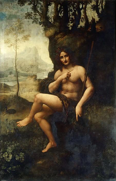 Saint John (Bacchus). Leonardo da Vinci