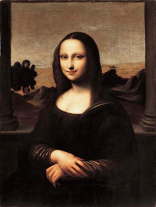 The Isleworth Mona Lisa. Leonardo da Vinci