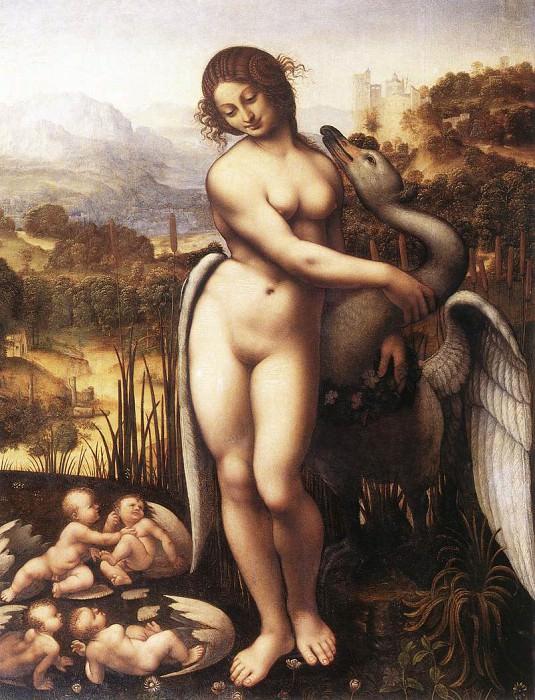 Leda and the Swan (copy). Leonardo da Vinci