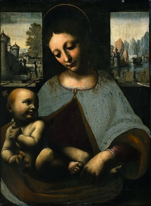 Virgin and Child. Leonardo da Vinci
