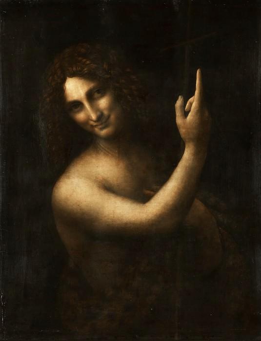 Saint Jean-Baptiste. Leonardo da Vinci