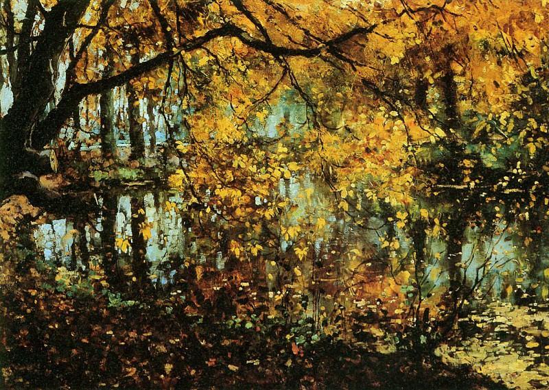 Vreedenburgh Cornelis Coesweerd In Laren In The Autumn Sun. Cornelis Vreedenburgh