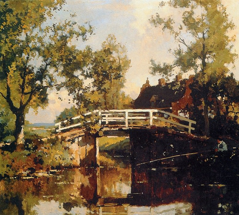 Vreedenburgh Cornelis Bridge Near Estate Linschoten Sun. Cornelis Vreedenburgh