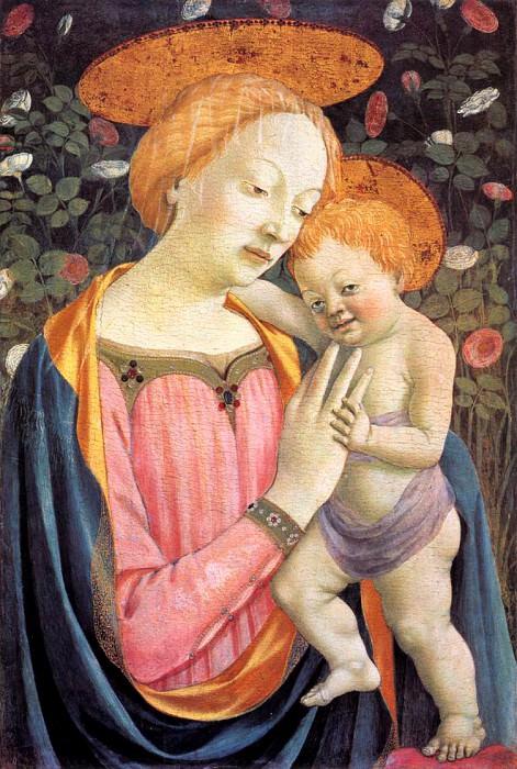 Veneziano Madonna e il Bambino 1447. Domenico Veneziano