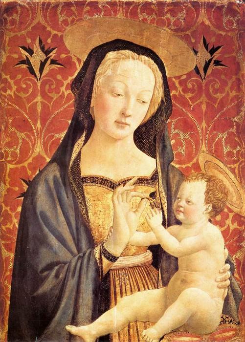 Madonna and Child. Domenico Veneziano