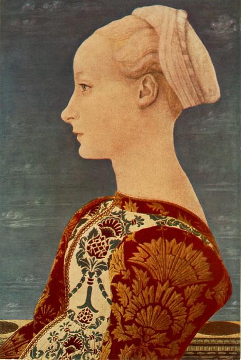Portrait of a Young Woman. Domenico Veneziano