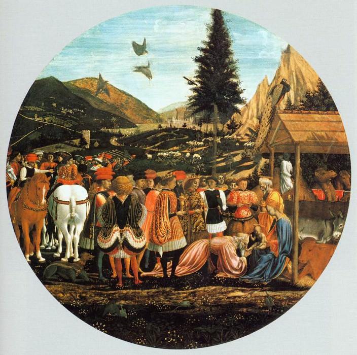 Adoration of the Magi. Domenico Veneziano