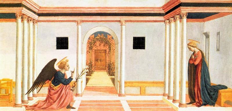 Annunciation. Domenico Veneziano