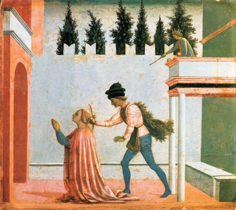 Martyrdom of St Lucy. Domenico Veneziano